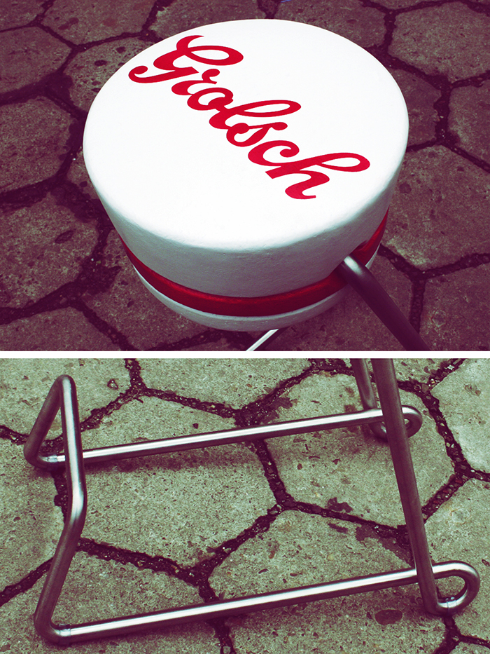 Grolsch Bar Stool – detale